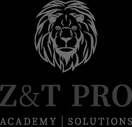 O nás - vertikálne Logo Z&T PRO academy solutions