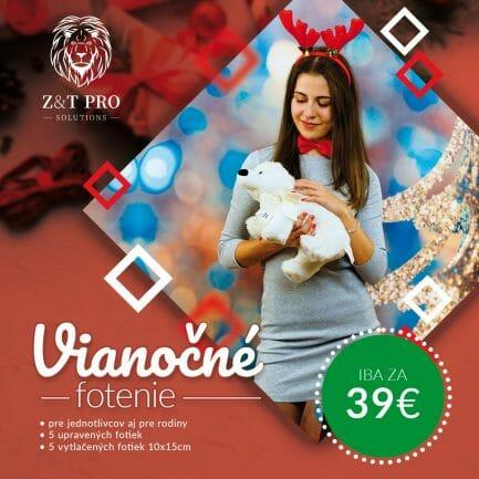 Vianočné fotenie v Košiciach - Z&T PRO Solutions